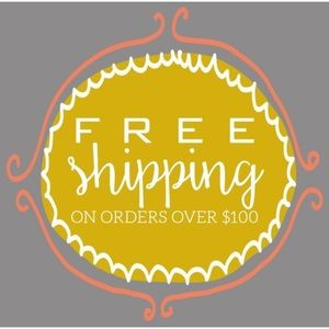Free Shipping on $100+ Orders